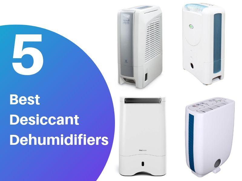 5 Best Desiccant Dehumidifiers (Reviews